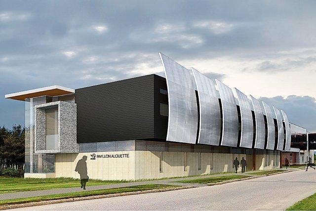 sept les feu vert pour un nouveau pavillon universitaire fanny l vesque ducation. Black Bedroom Furniture Sets. Home Design Ideas