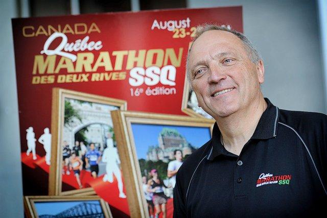 Denis Therrien, président et directeur général de courir... (Le Soleil, Patrice Laroche)