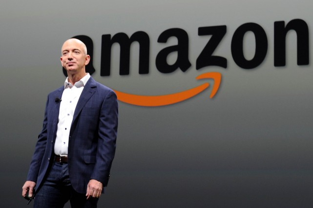 Jeff Bezos, fondateur et PDG d'Amazon.com.... (Photo: archives AFP)
