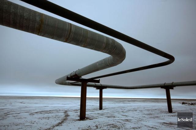 Le projet de TransCanada de transport du pétrole... (Photothèque Le Soleil)