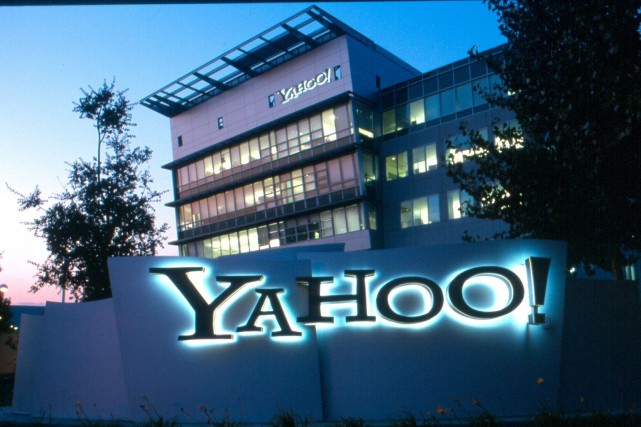 C'est la première fois depuis 2011 que Yahoo... (Photo Yahoo!)