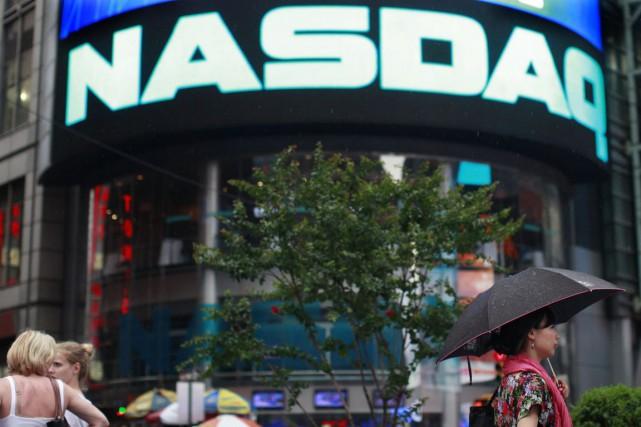L'opérateur de la Bourse électronique américaine Nasdaq envisage de gérer des... (PHOTO BRENDAN McDERMID, ARCHIVES REUTERS)