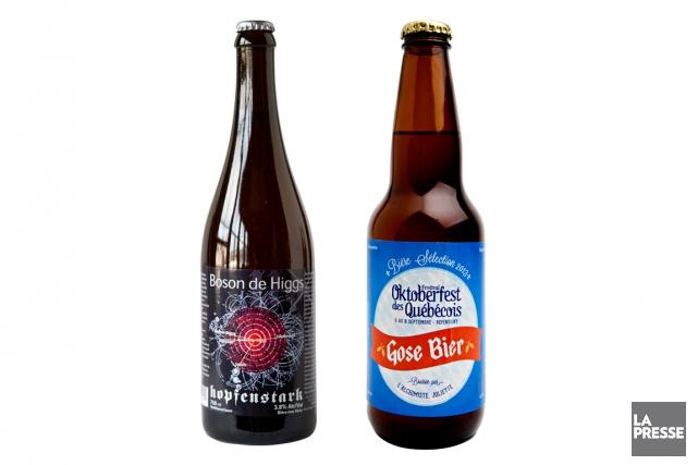 Cette semaine, deux bières d'inspiration allemande à faible teneur en alcool.... (Photos Anne Gauthier, La Presse)