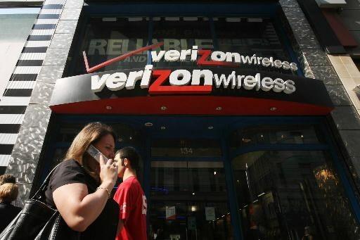 Le géant américain des télécoms Verizon (VZ)a publié mardi... (Photo Associated Press)