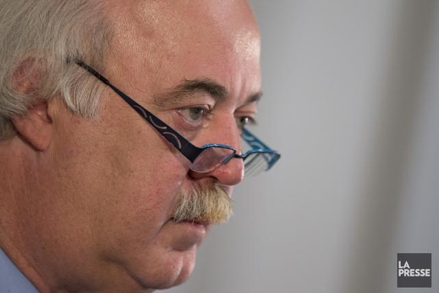 Le maire Laurent Blanchard.... (Photo David Boily, La Presse)