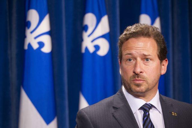 Le ministre de l'environnement, Yves-François Blanchet.... (PHOTO IVANOH DEMERS, ARCHIVES LA PRESSE)