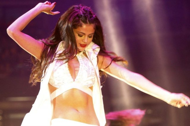 Selena Gomez était en spectacle à Ottawa hier... (Photo: Simon Séguin-Bertrand, Le Droit)