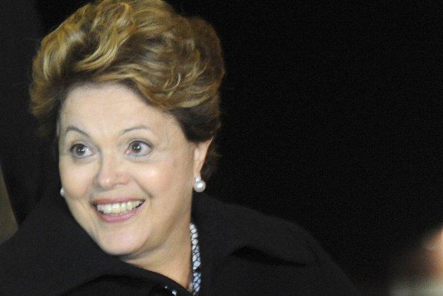Dilma Rousseff a-t-elle échappé à ses gardes du... (Photo AFP)