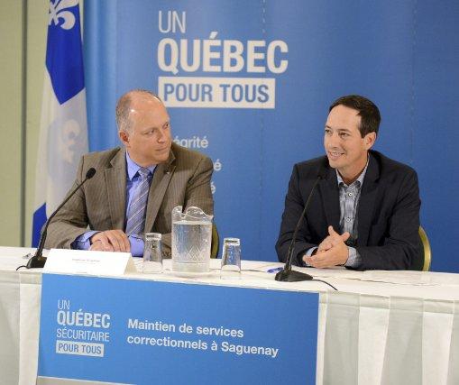 Le député de Chicoutimi et président du Conseil... (photo Jeannot Lévesque)