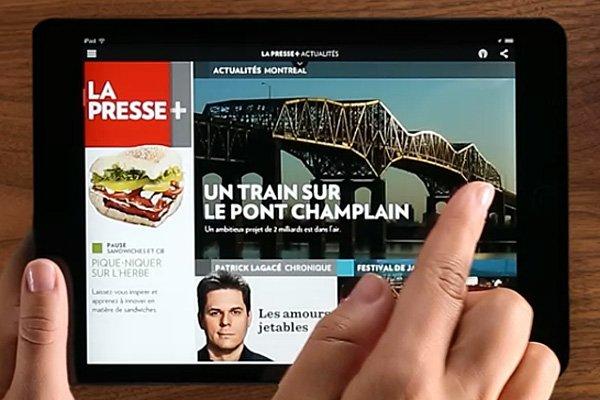 La Presse+ s'est récemment distinguée parmi les 60...