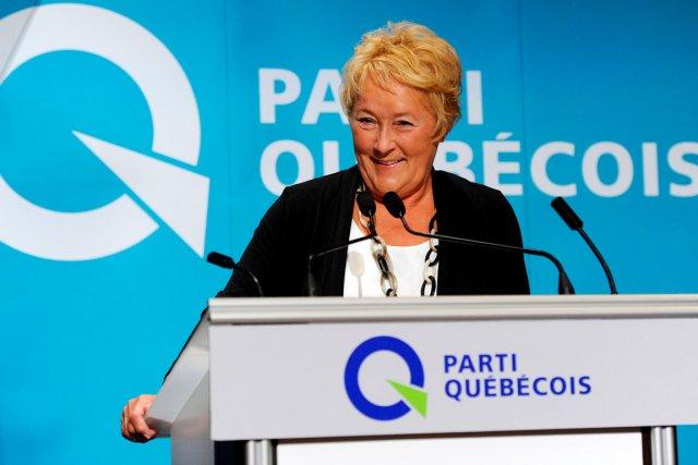 La première ministre du Québec, Pauline Marois.... (Photo Le Soleil, Erick Labbé)
