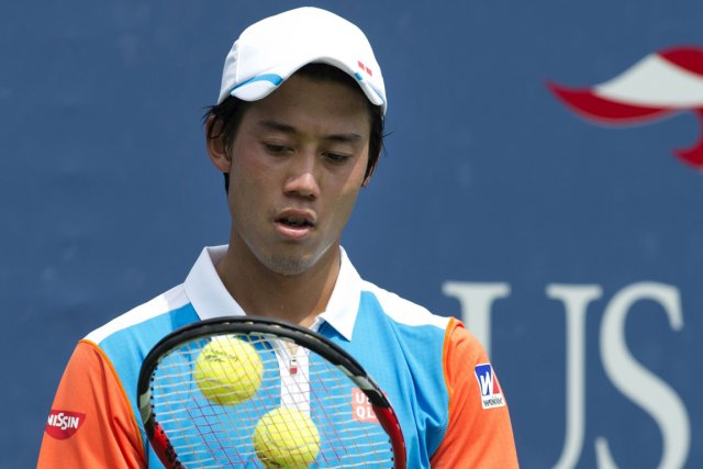 Kei Nishikori... (Photo Don Emmert, AFP)
