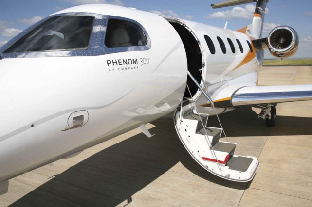 Le constructeur d'avions brésilien Embraer (ERJ) a indiqué... (Photo fournie par Embraer)