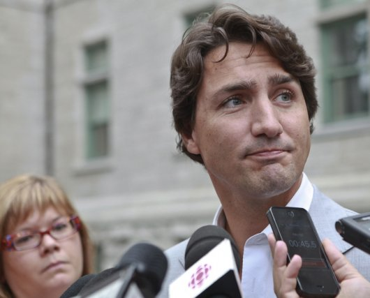 Le chef du Parti libéral du Canada, Justin... (Photo Francis Vachon, La Presse Canadienne)