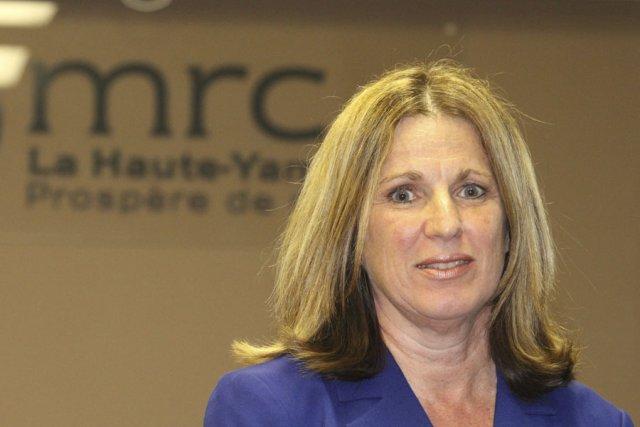 La directrice générale de la MRC, Johanne Gaouette.... (photo archives La Voix de l'Est)