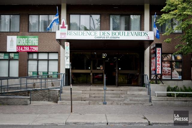 La Résidence des Boulevards-campus St-Joseph.... (PHOTO MARCO CAMPANOZZI, LA PRESSE)