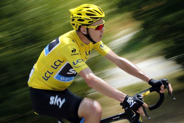 Le vainqueur du dernier Tour de France, le... (Photo Jeff Pachoud, AFP)