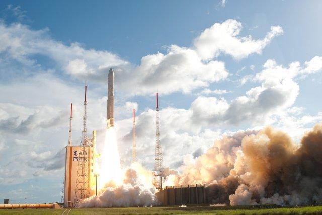 Lancement d'une autre fusée européenne Ariane 5 en... (Photo AFP)