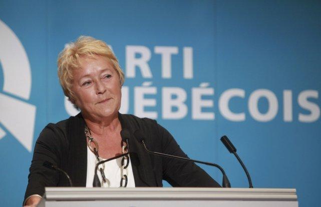 Pauline Marois dit à qui veut l'entendre qu'elle... (Photo Francis Vachon, La Presse Canadienne)