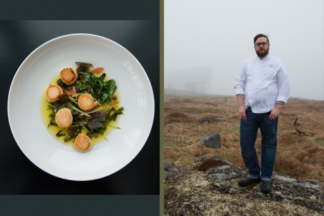 Le chef de cuisine du Fogo Island Inn,... (PHOTOS ALEX FRADKIN, FOURNIES PAR LA FONDATION SHOREFAST)