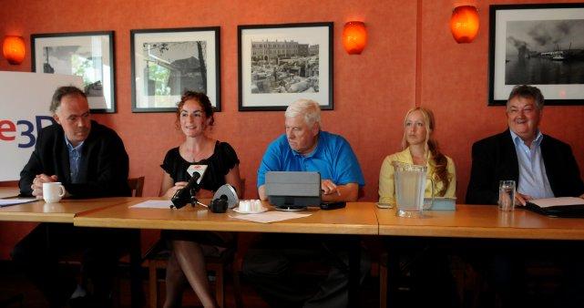 Les candidatsYves Lapierre, Isabelle Coulombe, Kim Thiffault et... (Photo: François Gervais)