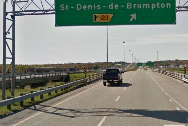 Une autre voie rapide subira des travaux de réfection au cours des prochaines... (Capture d'écran Google Street View)