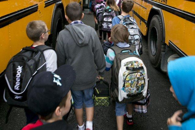 La rentrée scolaire a été «des plus normales» mardi à la polyvalente de... (Imacom, René Marquis)