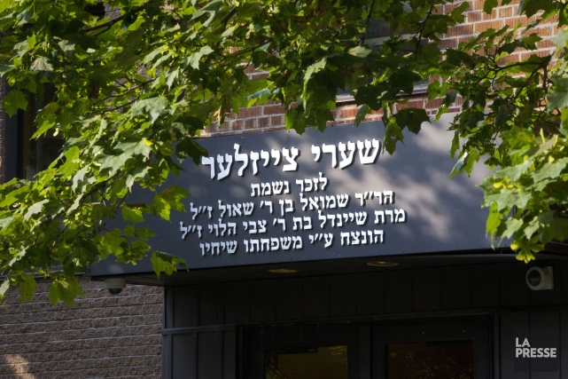 Ce sont les écolesBelz, Mesifta, Skver et Yeshiva... (Photo Andre Pichette, La Presse)