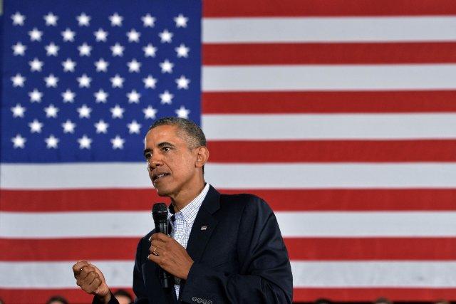 Le président américain Barack Obama.... (Photo Jewel Samad, AFP)