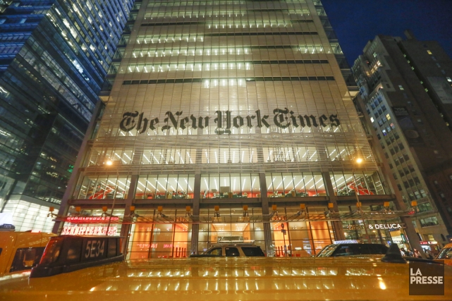 Le New York Times scrute les comportements de ses... (Photo: archives La Presse)