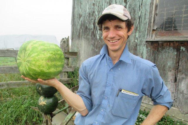 L'agriculteur François Biron a eu l'idée originale de... (Jessy Laflamme, LeDroit)