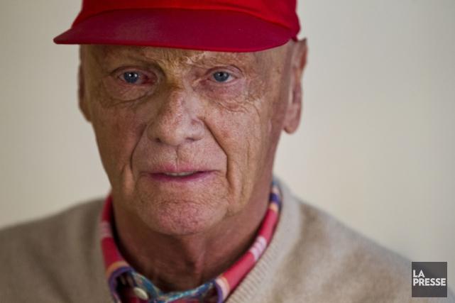 L'ex-champion du monde de Formule 1, Niki Lauda.... (Photo Olivier Jean, archives La Presse)