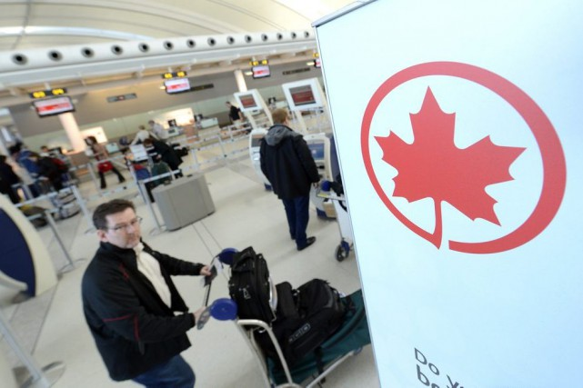 Si Air Canada a été visée par le... (Photo Aaron Harris, Bloomberg)