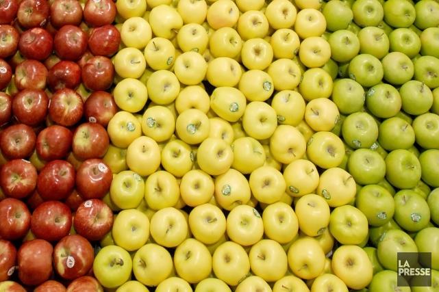 Les pommes vertes et surettes contiennent notamment davantage... (Photothèque La Presse)