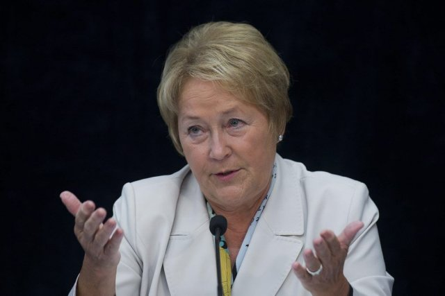 Pauline Marois... (Photo La Presse Canadienne)