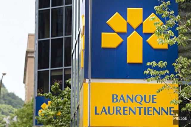 La Banque Laurentienne(T.LB)a continué à éliminer des postes... (Photo Anne Gauthier, archives La Presse)
