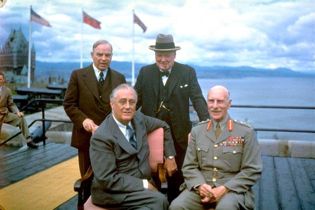 La Conférence de Québec, en août 1943, avait... (Archives Le Soleil)