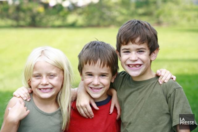Les enfants obtiennent en moyenne 3,70 $ par... (Photothèque La Presse)