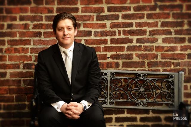 L'organiste Vincent a notamment remporté le Prix d'Europe... (Photo Bernard Brault, La Presse)