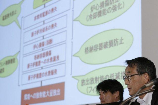 Shunichi Tanakaprésident de l'autorité de régulation nucléairejaponaise s'adressait... (Photo Shizuo Kambayashi, AP)