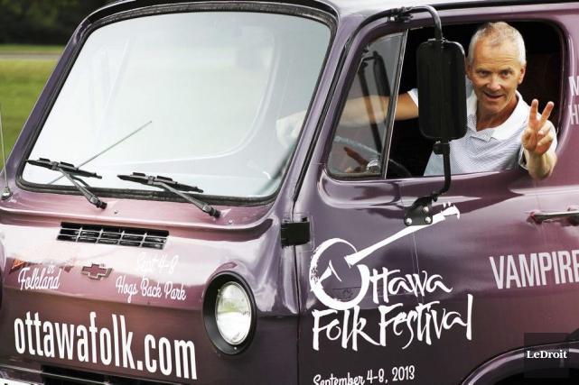 Le directeur général du festival Folk d'Ottawa, Mike... (Etienne Ranger, Archives LeDroit)