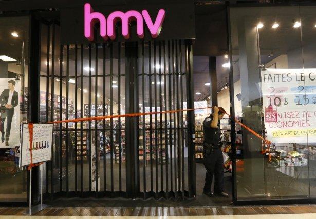 La victime est un employé de la boutique... (Simon Séguin-Bertrand, LeDroit)