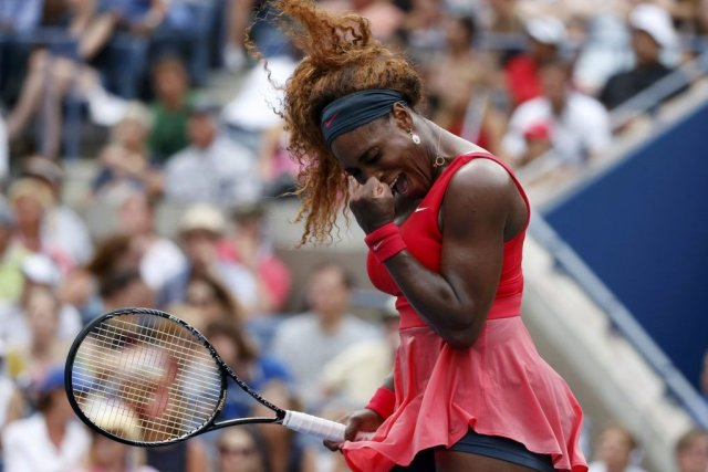 Serena Williams s'est incliée face à Sloane Stephens lors... (EDUARDO MUNOZ)