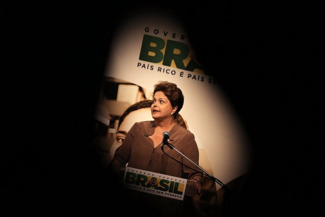 La présidente brésilienne Dilma Rousseff.... (PHOTO Nacho Doce, ARCHIVES REUTERS)