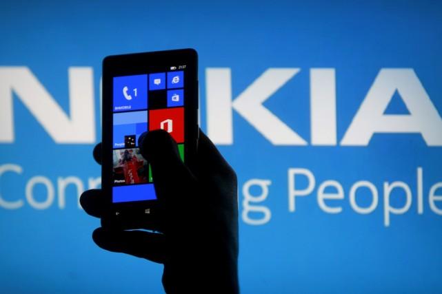 L'équipementier en télécoms finlandais Nokia (NOK) a annoncé... (PHOTO DADO RUVIC, ARCHIVES REUTERS)