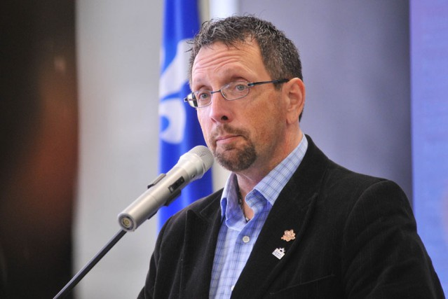 Guy Veillette, maire de Saint-Narcisse... (Photo: Émilie O'Connor)
