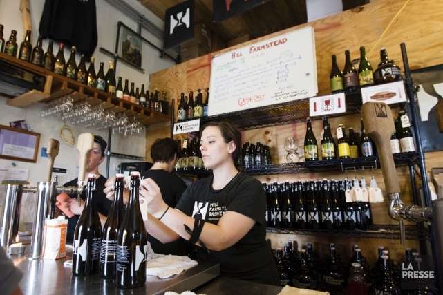La popularité de la Hill Farmstead Brewery ne... (Photos Anne Gauthier, La Presse)