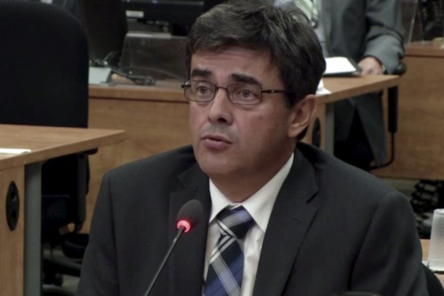 Patrice Mathieu a été vice-président génie urbain et... (Photo tirée d'une vidéo de la Commission Charbonneau)