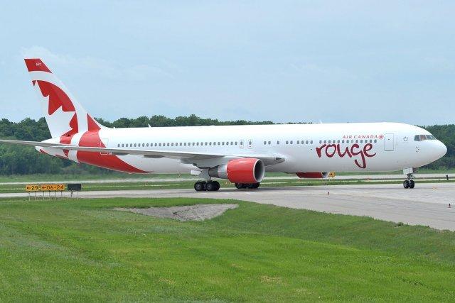 Cette décision touche le service entre Montréal ou... (Photo fournie par Air Canada)