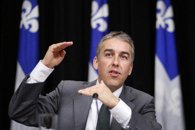 Le ministre des Finances Nicolas Marceau prévoyait au... (Photo: Reuters)